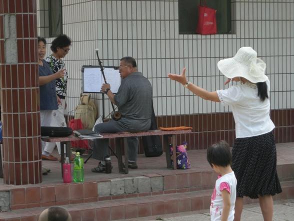 Musikk og dans i Lido Side Park