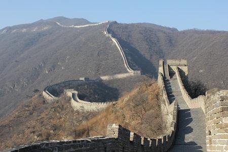 Den kinesiske muren ved Mutianyu