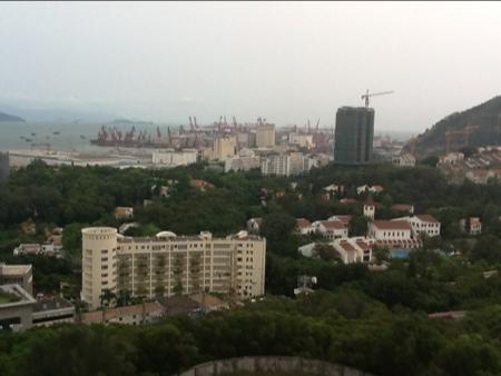 Utsikt over Shekou i Shenzhen